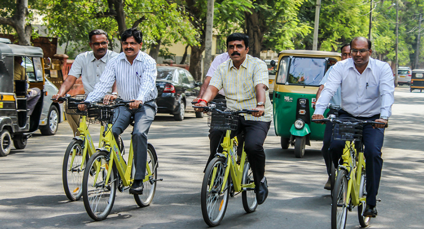 Cycle sharing to kickstart in Chennai