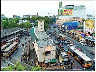 Mambalam skywalk projectcould take shape by year-end
